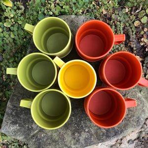Vintage Tupperware Coffee Mug Set